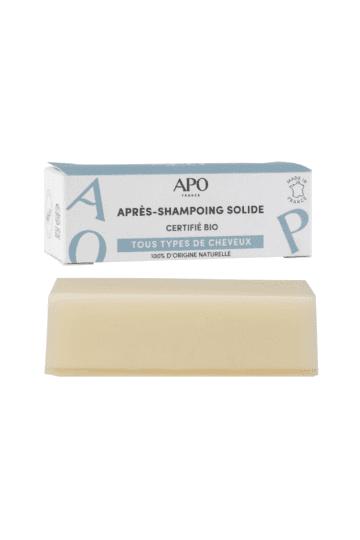 Après-shampoing solide bio démélant