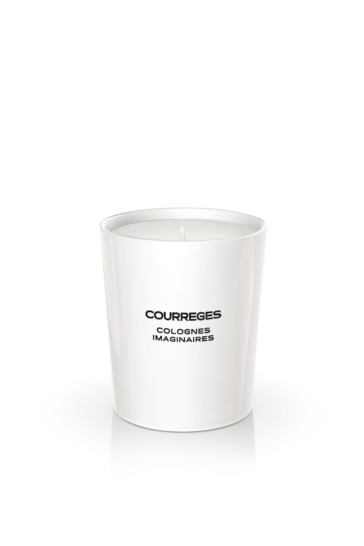 Une bougie Courreges 2050 Colognes Imaginaires offerte